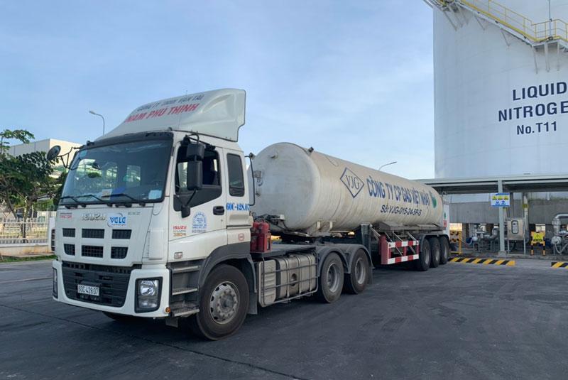 Dịch vụ vận chuyển khí hóa lỏng