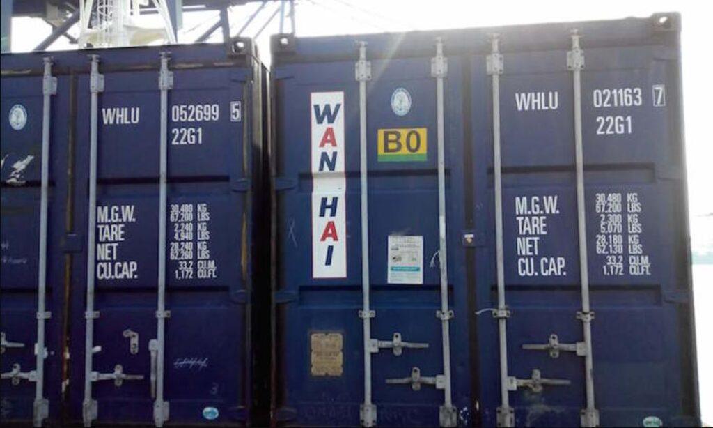 Ký hiệu các loại container