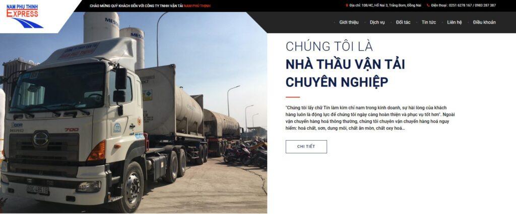 dịch vụ vận chuyển hàng hóa Nam Phú Thịnh